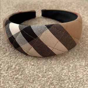 Authentic BURBERRY Quilted Headband